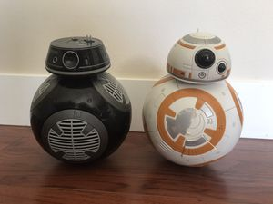 """10"""" toll Disney BB-8 and BB-9 robots moves sound effects for Sale in Kenmore, WA"""