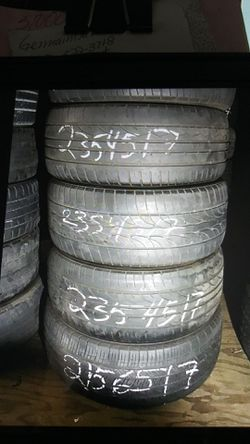 Tire 235 45 17 instaled includes each ELMOFLES for Sale in La Puente,  CA