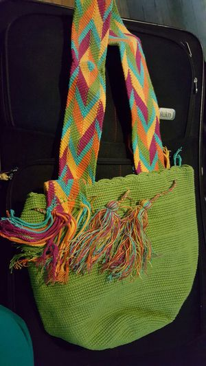 Hand made colombian purse. for Sale in Bladensburg, MD