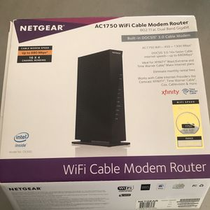 Netgear Wifi Cable Modem for Sale in Los Angeles, CA