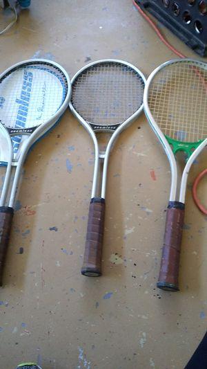 I have seamless tennis rackets good shape for Sale in Phoenix, AZ