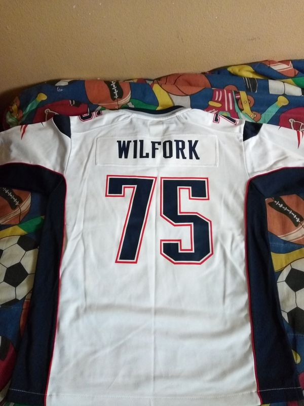PATRIOTS JERSEY SIZE LARGE YOUTH