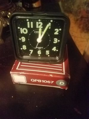 Vintage citizen travel alarm clock for Sale in Calumet City, IL