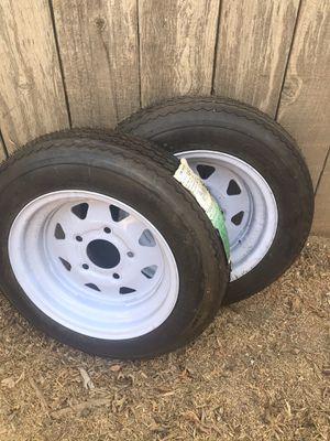 2-Pack Trailer Tire Rim for Sale in Whittier, CA