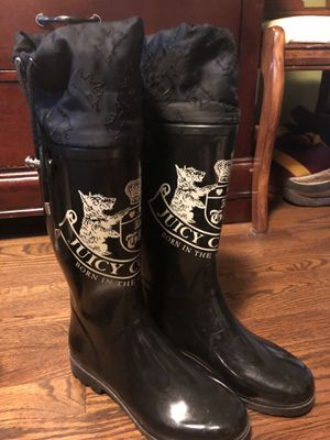Juicy couture rain boots for Sale in Nashville, TN