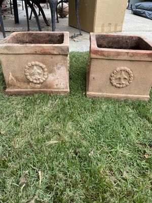 Terracota Flower pots for Sale in Orange, CA