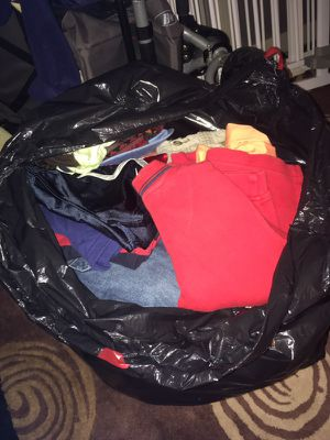 Huge bag of baby boy clothes mix of different size for Sale in Fairfax, VA