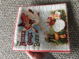 Mother Goose Soft Book Reading pictures libro por bebe nino nina for Sale in Hesperia, CA