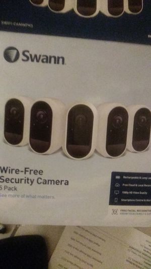 Swann wire free security camera 5pack for Sale in Compton, CA