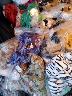 I have all the rarest beanie babies you can think of all original all from smoke free house send me message which one you want and I give you a price for Sale in Los Angeles,  CA