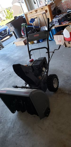 Snow blower craftman 24 inch for Sale in Harrisburg, PA