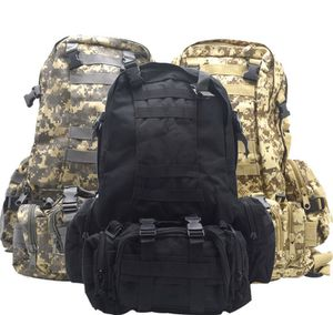 55L Molle Outdoor Military Tactical Bag Camping Hiking Trekking Backpack for Sale in Gardena, CA