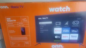"""Roku Tv Flat-screen 42"""" for Sale in Grand Terrace, CA"""