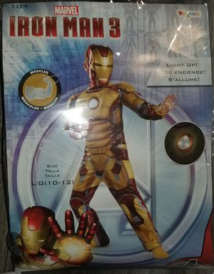 Iron Man 3 Boys Costume for Sale in Chicago, IL