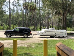 2000 Coleman fleet wood pop up camper for Sale in Deerfield Beach, FL