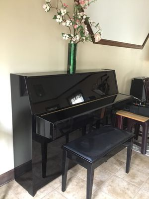 Yamaha U1 Upright Piano and Bench - 1999 for Sale in Harrisonburg, VA