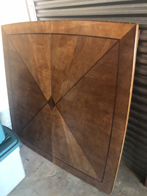 Very heavy oak table with 6 chairs for Sale in Raleigh, NC