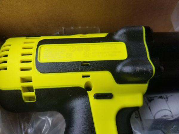"""Snap-On 18 V 1/2"""" Drive High Viz MonsterLithium Impact Wrench CT8850HV Kit . 2 batterries Condition is Ne"""