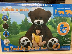 NEW 5 FOOT INFLATABLE TEDDY BEAR 🧸 for Sale in Newport Beach, CA