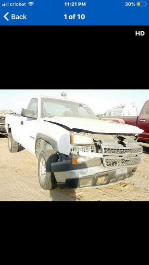 2007 Chevy Silverado 6.0L Motor and transmission for Sale in Fresno, CA