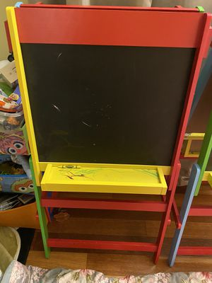 Kids chalkboard and whiteboard Easel for Sale in Silver Spring, MD