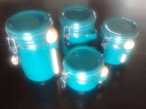 Set of Green canisters for Sale in Mount Pleasant, UT