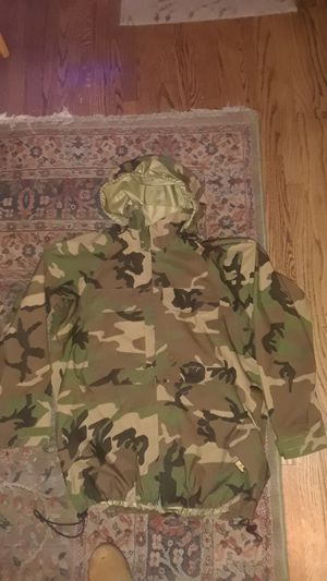 Goretex Camo Army Jacket Size XLarge for Sale in Seattle, WA