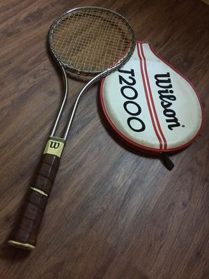 Wilson T2000 Vintage Tennis Racket for Sale in Beverly Hills, CA