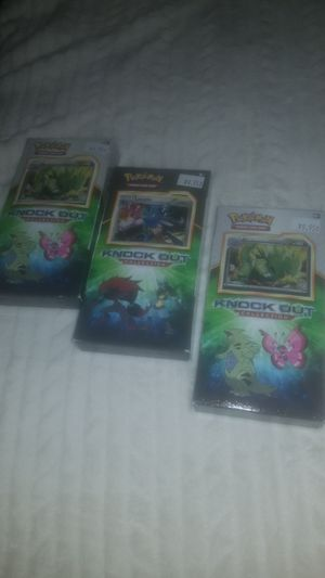 Pokemon knockout collection packs for Sale in Matthews, NC