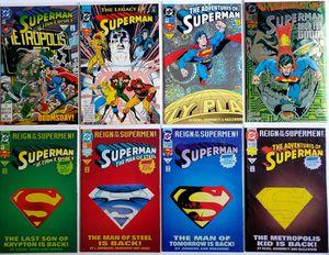 Superman comic books (8 comics) for Sale in Hillsboro, OR