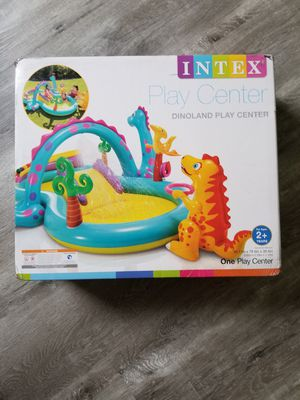 Intex Dinoland Inflatable Play Center, pool for Sale in Davie, FL