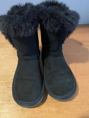 Children's Place girls faux fur boots (3) for Sale in Livermore, CA
