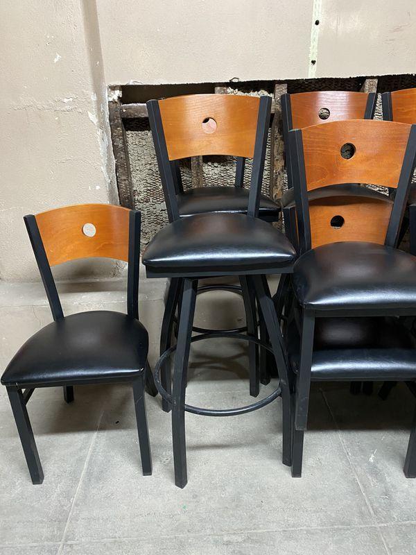 Restaurant chairs/stools