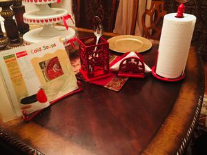 MOVING: Red kitchen set for Sale in FX STATION, VA