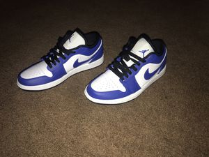 Jordan 1 blue/wht 7.5 for Sale in Columbia, SC