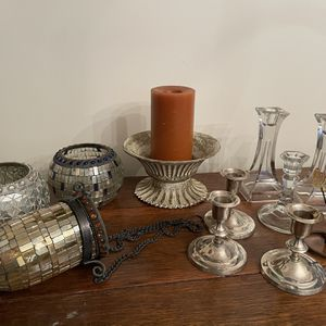 Candle Holders Assortment for Sale in Douglasville, GA