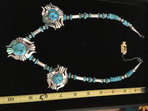 Squash Blossom necklace for Sale in Sun City, AZ