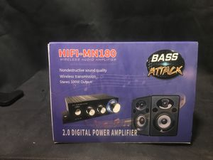 wireless audio amplifier for Sale in Cleveland, OH