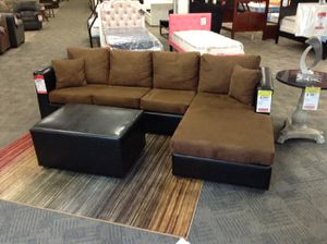 2pc Sectional + Ottoman for Sale in Phoenix, AZ
