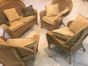 Patio/sunroom whicker furniture set for Sale in West McLean, VA