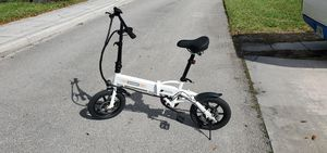 "14"" 250W 36V Electric Bicycle Folding Ebike Bike Lithium Battery Powered for Sale in LAUD BY SEA, FL"