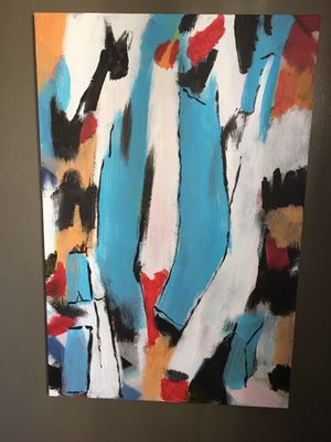 Big abstract painting for Sale in Springfield, VA