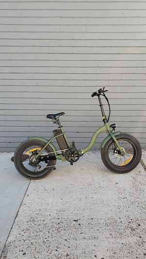 "NEW Electric Bicycle 48V 500W ""TJC"" Moss Chaos for Sale in San Diego, CA"