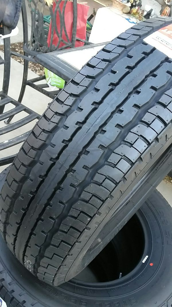 4 new tires trailer 205/75/15 Gts