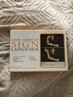 ASL learn for Sale in Whittier, CA