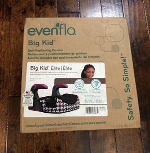 Evenflo Big Kid Elite Booster Seat for Sale in Lawrenceville, GA