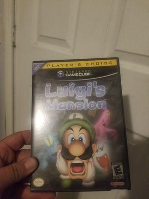 Luigi's mansion gamecube for Sale in Santa Clarita, CA