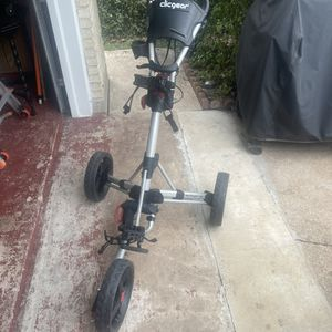 Clicgear Golf Push Cart for Sale in Victoria, TX