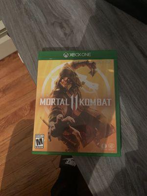 Xbox one Mortal Kombat 11 , MK11 for Sale in Tiverton, RI