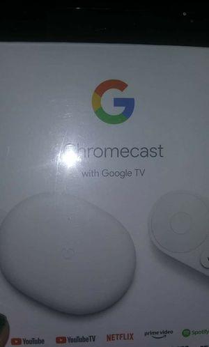 Google chromecast with Google tv for Sale in Chandler, AZ